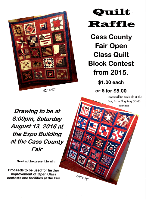 2016 06 15 WW Quilt Raffle Poster 001