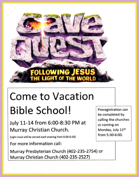 2016 06 22 MRRY Bible School Cave Quest