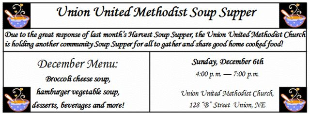UNION_MC_SOUP_SUPPER