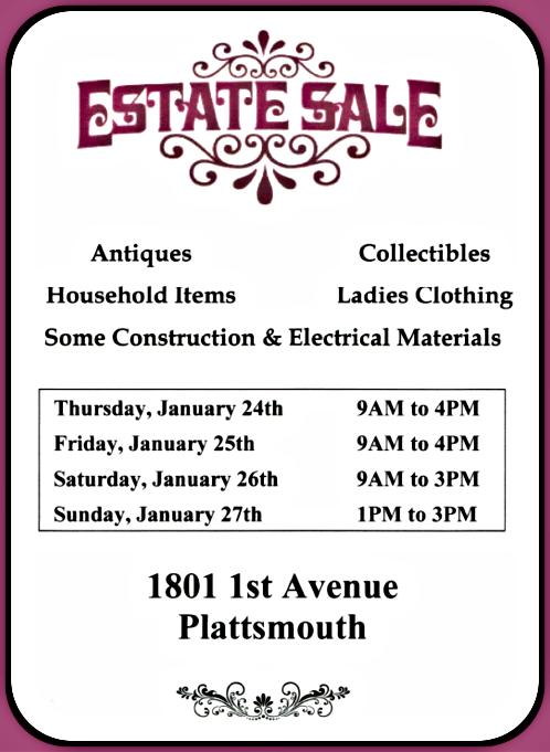 2019 01 16 PLT estate sale 1